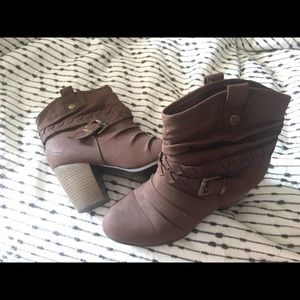 Hardly Worn Cowboy Ankle Booties